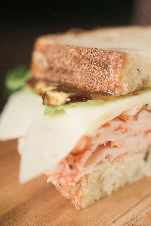 Gourmet Turkey Sandwich