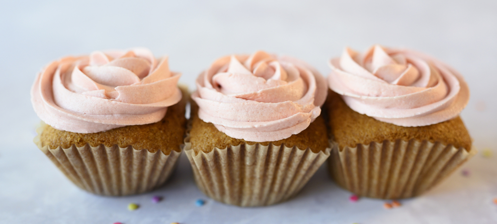 Vanilla Cupcakes and Frosting