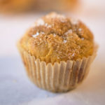 single muffin in a plain wrapper