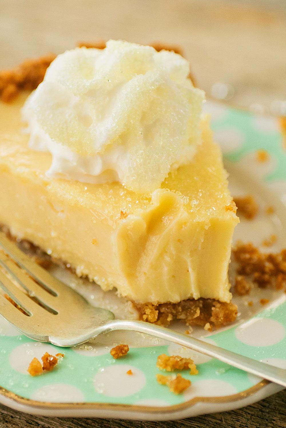 3 Ingredient Lemon Pie