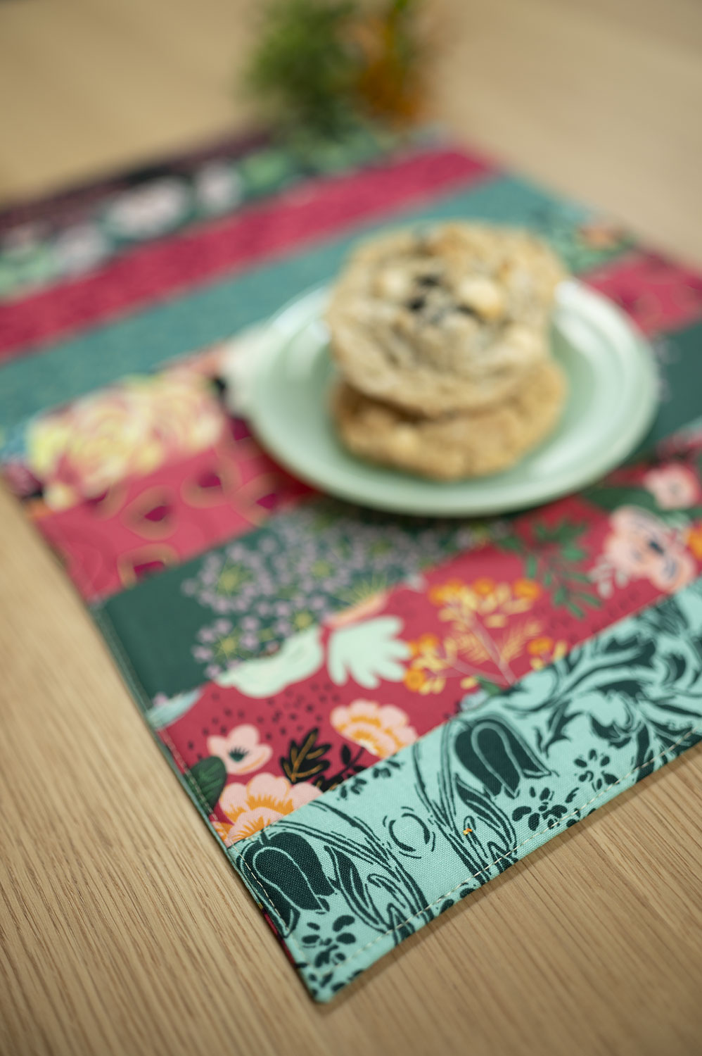 Jelly Roll Quilt Pattern for Placemats